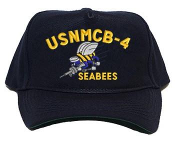 8cb6b21ac9422 U.S. Navy Seabee Unit Caps - militarygifts.com