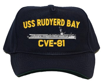 USS Yudyerd Bay CVE-81 Regulation Style Cap