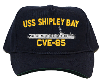 USS Shipley Bay CVE-85 Regulation Style Cap