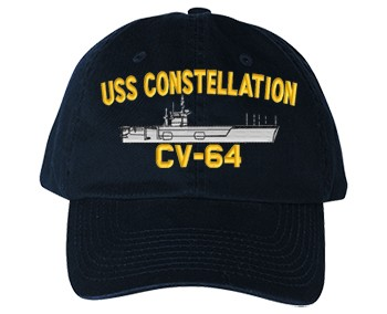 USS Constellation CV-64 Cap