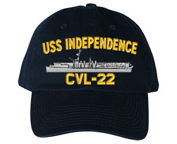 USS Independence CVL-22 Old Salt Style Cap