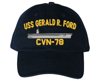 USS Gerald R. Ford Old Salty Cap