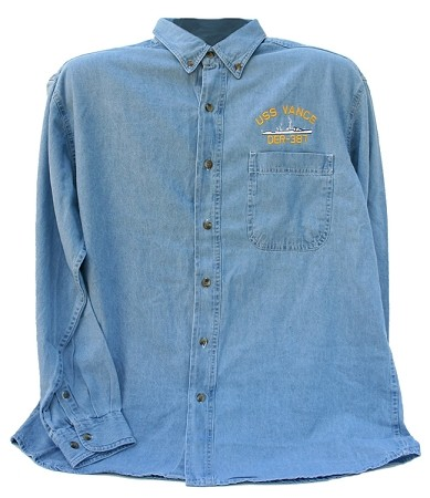 U.S. Navy Ship Denim Shirt