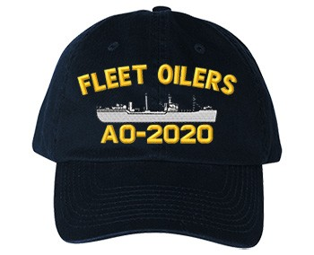 U.S. Navy Caps Fleet Oilers - Old Salt Style
