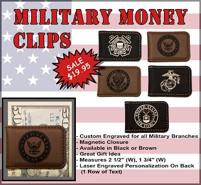 U.S. Military Money Clip