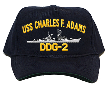 USS Charles F. Adams DDG-2 Regulation Cap