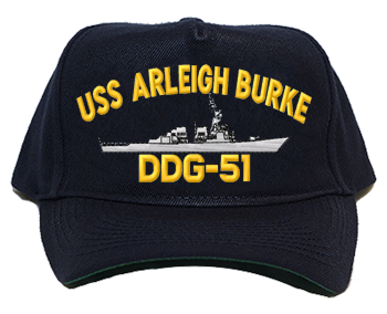 USS Arleigh Burke DDG-51 Navy Ship Hats