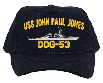 USS John Paul Jones DDG-53 Navy Ship Hats