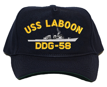 USS Laboon DDG-58 Regulation Cap