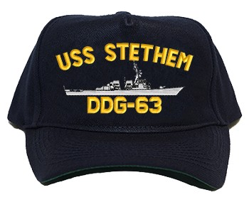 USS Stethem DDG-63 Regulation Cap