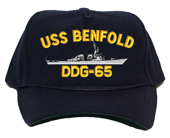 USS Benfold DDG-65 Regulation Cap