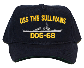 USS The Sullivans DDG-68 Regulation Cap
