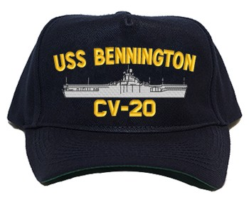 USS Bennington CV-20 Navy Ship Hats
