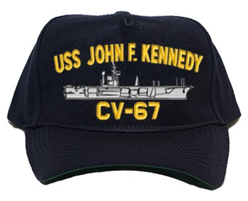 USS John F. Kennedy CVA-67, CV-67 Navy Ship Hats