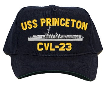 USS Princeton Navy Ship Hats CVL-23