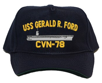 USS Gerald R. Ford CVN-78 Ship Hats