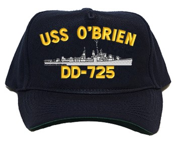 USS O'Brien DD-725 Regulation Cap