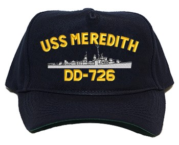 USS Meredith DD-726 Regulation Cap