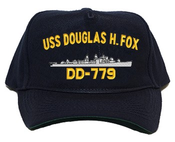 USS Douglas H. Fox DD-779 Regulation Cap