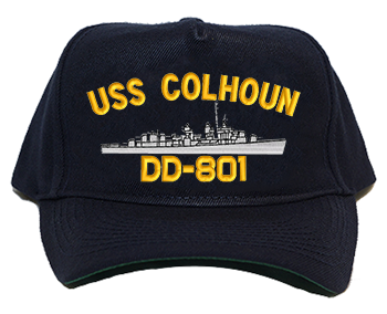 USS Colhoun Regulation Cap