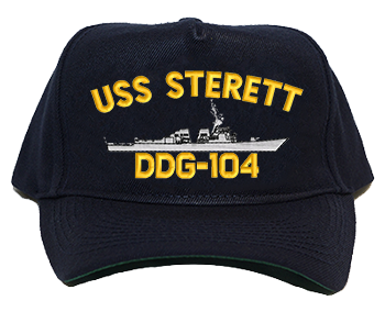 USS Sterett DDG-104 Navy Ship Hats