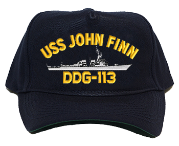 USS John Finn DDG-113 Regulation Cap