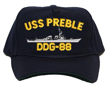 USS Preble DDG-88 Regulation Cap