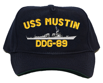 USS Mustin DDG-89 Regulation Cap