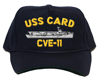 USS Card CVE-11 Regulation Style Cap