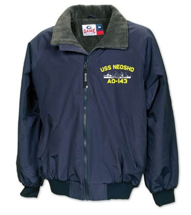 b48761805f6 U. S. Navy Ship Jacket - Three Season Style - Custom Embroidered for the  ship you served aboard.